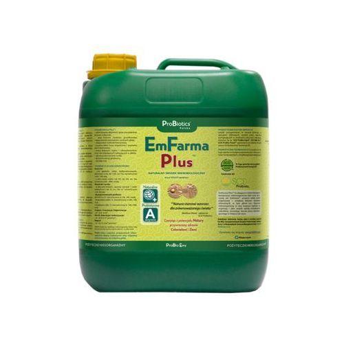 Probiotics polska sp z o.o. Emfarma plus - ekologiczny ogród, rozkład resztek, żyzna gleba - 5 litrów emfarma plus 5l.- przyspiesza rozkład resztek organicznych w glebie, fermentuje gnojowicę