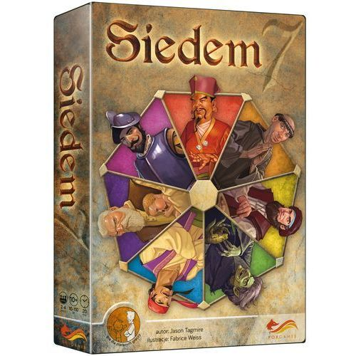 Gra siedem 7 - darmowa dostawa od 250 zł!! marki Foxgames