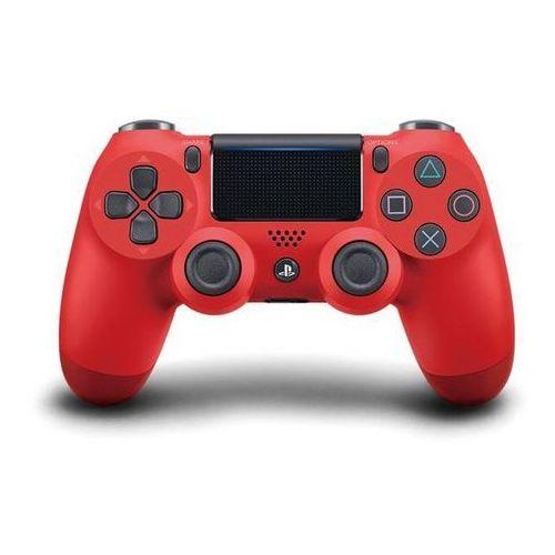 Ps4 dualshock 4 czerwony v2 - odbiór w 2000 punktach - salony, paczkomaty, stacje orlen marki Sony