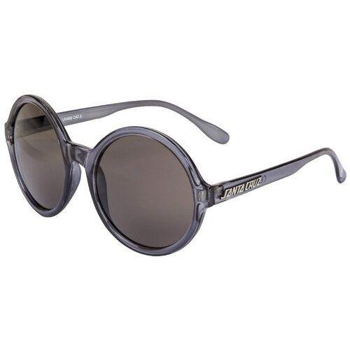 okulary słoneczne SANTA CRUZ - Crystal Sunglasses Black Crystal (BLACK CRYSTAL), kolor żółty