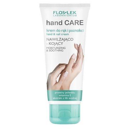 krem nawilżająco-kojący do rąk i paznokci z proteinami jedwabiu 100ml marki Floslek