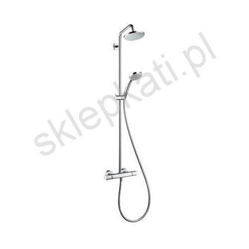 komplet prysznicowy croma 160 z ramieniem prysznicowym 270 mm, dn15, kolor chrom 27135000 marki Hansgrohe