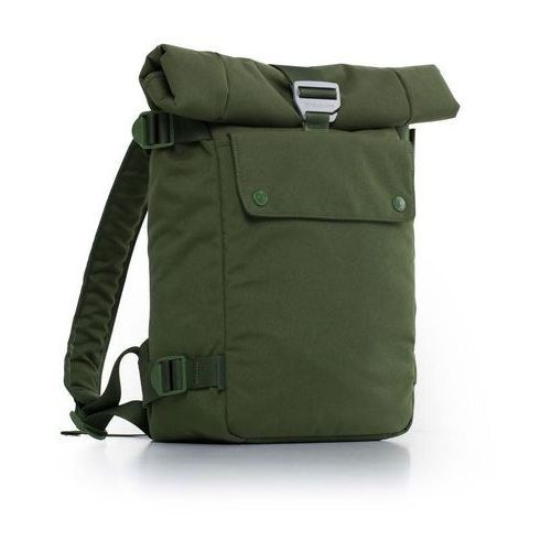 Plecak na laptopa MacBook Pro 11-15 cali zielony, kolor zielony