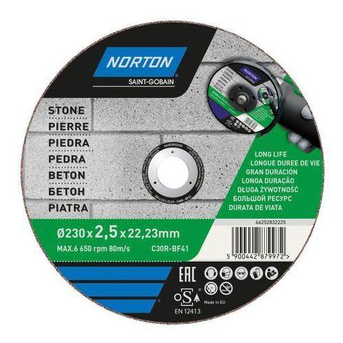 Norton Tarcza korundowa do cięcia betonu 41-230 x 2,5 x 22,2 mm