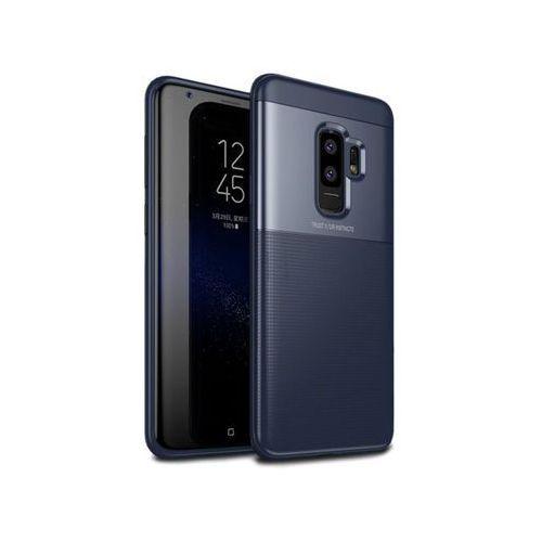Etui Alogy Toraise Samsung Galaxy S9+ Plus granatowe - Granatowy, kolor niebieski