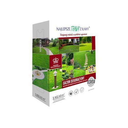 Trawa dekoracyjna gazon dekoracyjny 1 kg marki Najlepsze trawy z iławy