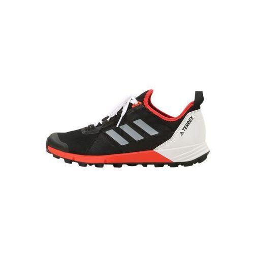 adidas Performance TERREX AGRAVIC SPEED Obuwie do biegania Szlak black/white/hire red, EFW59