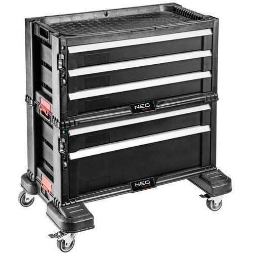 84-226 szafka narzędziowa, 5 szuflad na kołach marki Neo