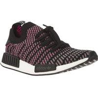 nmd r1 stlt primeknit core black grey four solar pink - buty męskie sneakersy, Adidas
