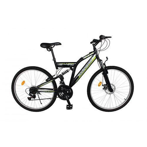 """Olpran Olpran rower górski Laser Disc 26"""" black/green - BEZPŁATNY ODBIÓR: WROCŁAW!"""