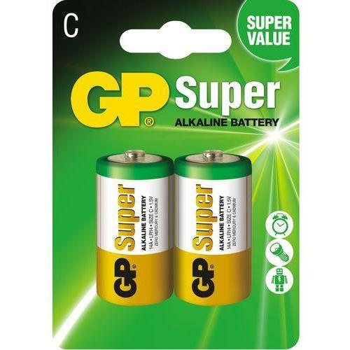 Gp 2 x bateria alkaliczna super alkaline lr14/c