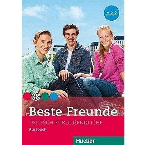 Beste Freunde A2.2 KB wersja niemiecka HUEBER - Praca zbiorowa (9783195010528)
