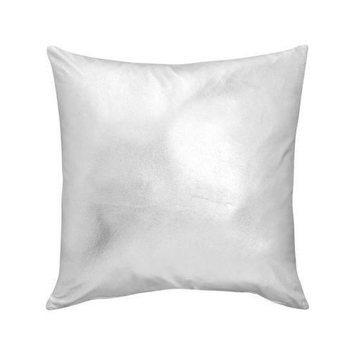 Poduszka skai srebrna 40 x 40 cm marki Inspire