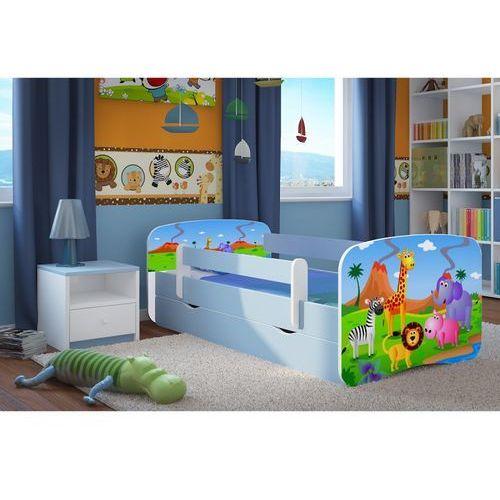 Kocot-meble Łóżko dziecięce babydreams safari kolory, promocja spokojny sen