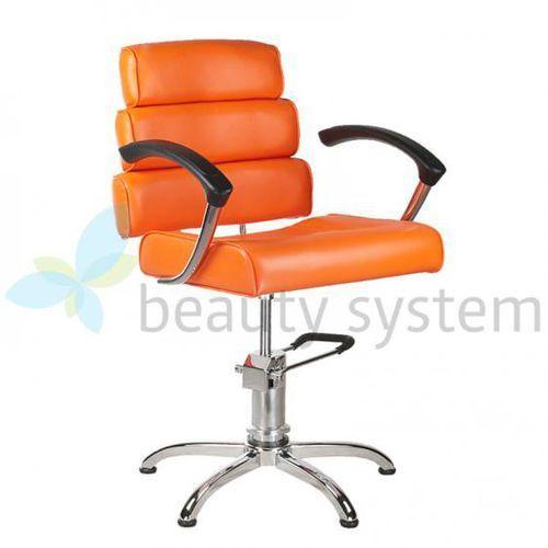 Fotel fryzjerski FIORE BR-3857 pomarańczowy - produkt z kategorii- Akcesoria fryzjerskie