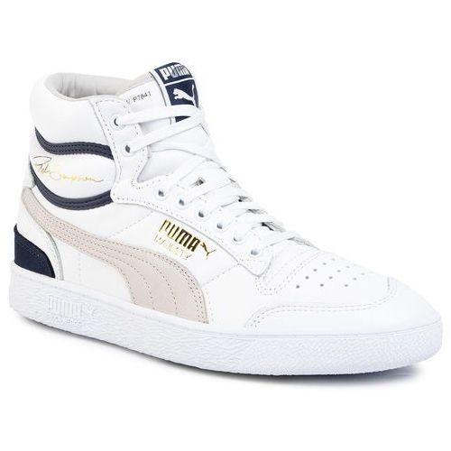 Sneakersy PUMA - Ralph Sampson Mid 370718 01 Puma Wht/Gray/Violet/Peacoat, w 2 rozmiarach
