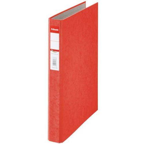 Segregator Esselte Rainbow 17934 A4/42/2ringi czerwony z kategorii Segregatory i akcesoria