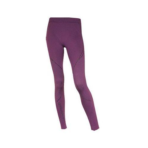 Spodnie Getry Damskie Brubeck Thermo LE00760 Fioletowe - produkt z kategorii- Odzież do sportów zimowych