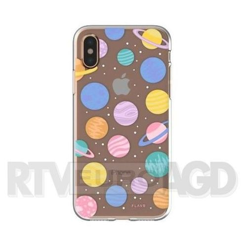 Flavr Etui iplate happy planets do apple iphone x wielokolorowy (30012) (4029948065571)