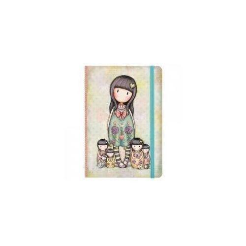Santoro Notes z twardą okładką - seven sisters (5018997618790)