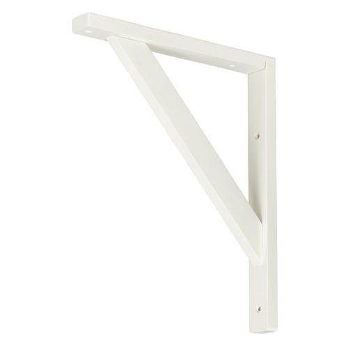 Wspornik drewniany Form Timber 250 x 300 mm biały (3663602764946)