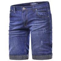 Risardi Wyprzedaż spodenki męskie t4458 - jeansowe