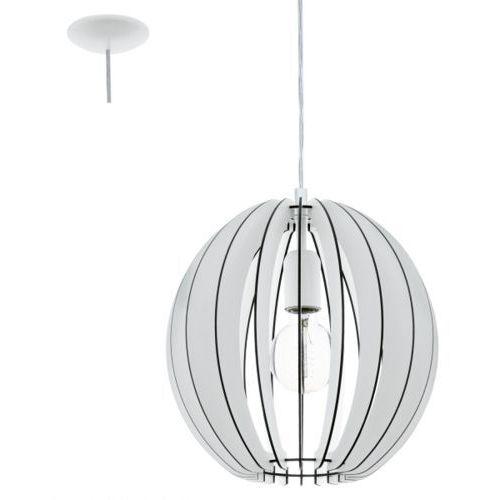 lampa wisząca COSSANO śr. 30 cm - biała, EGLO 94438