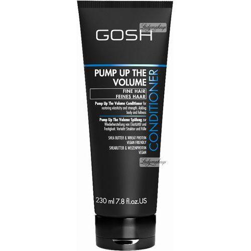 Gosh  - pump up the volume - conditioner - odżywka do włosów zwiększający objętość