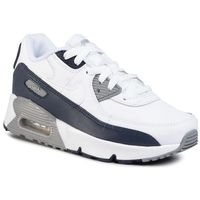 Buty - air max 90 ltr (ps) cd6867 105 white/white/particle grey marki Nike