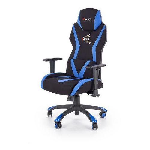 Fotel dla gracza gamingowy stig czarny/niebieski marki Halmar