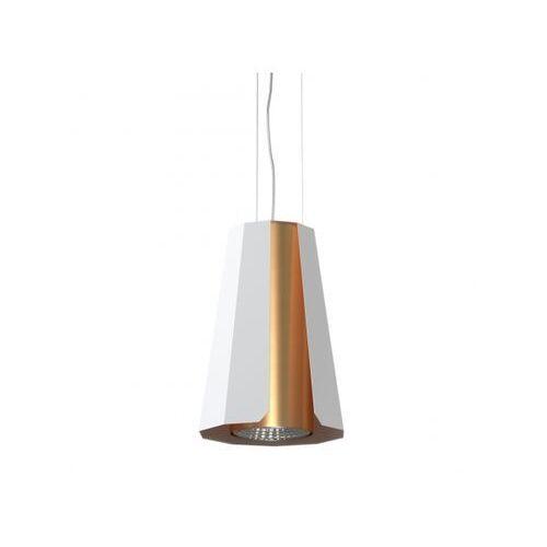 Lampa wisząca alamak 1389aw1/962/117 biała marki Cleoni
