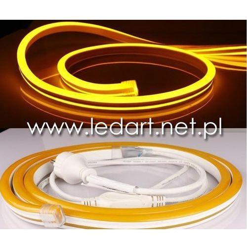 Zestaw LED Neon Flex 5m żółty