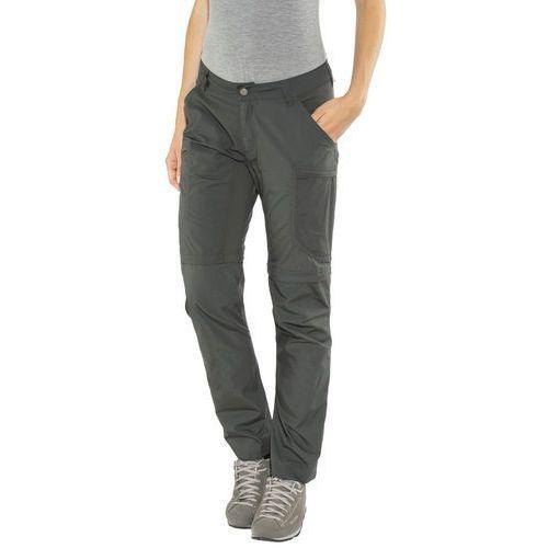 nybo spodnie długie kobiety szary 38 2018 spodnie z odpinanymi nogawkami, Lundhags