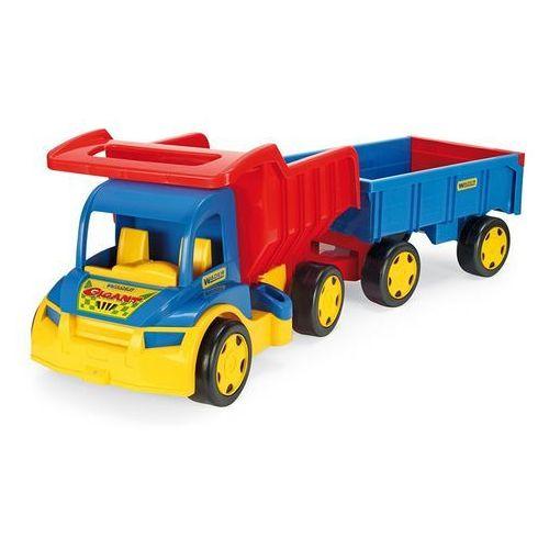 Gigant Truck Wywrotka z przyczepa 107 cm