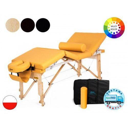 Mov Składany stół do masażu manual drewniany z regulacją wysokości