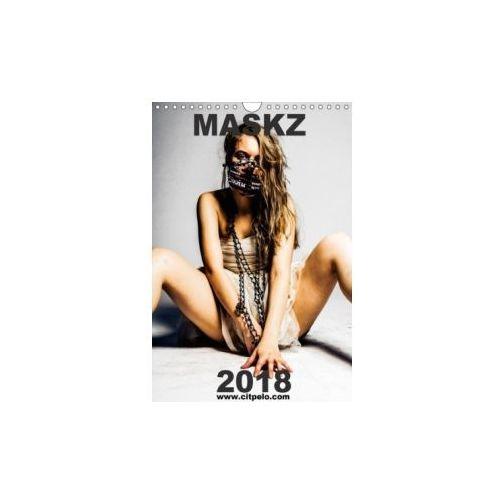MASKZ N.K. 2018 edition - Surreale Masken Porträits (Wandkalender 2018 DIN A4 hoch) (9783665955977)