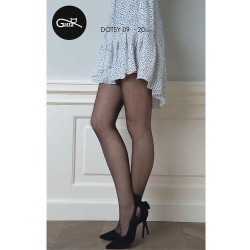 dotsy - rajstopy damskie wzorzyste marki Gatta