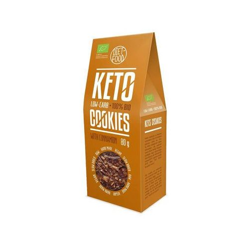 Diet-food Ciasteczka keto z cynamonem bio 80 g diet food (5906660508540)