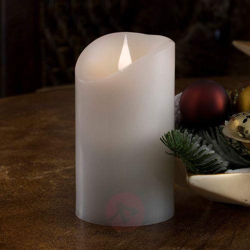 Świeca LED Prawdziwy wosk, płomień 3D, jak żywa (7318301830107)