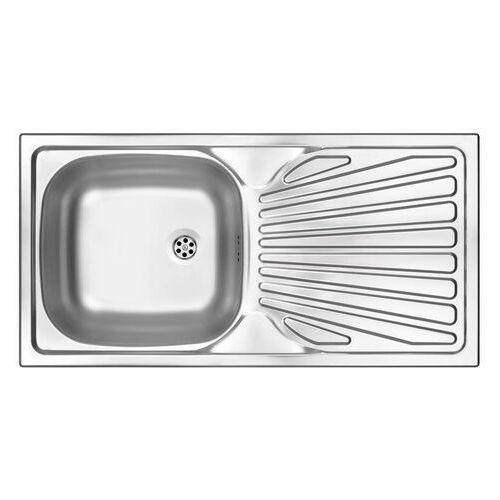 Deante Techno Zlewozmywak 1-komorowy z ociekaczem (5907650873976)