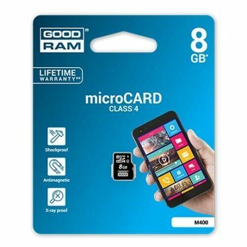 KARTA PAMIĘCI GOODRAM MICRO SD 8GB CLASS 4, 4B72-556EA_20170216004759