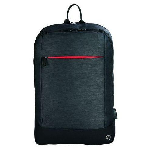 Plecak na laptopa HAMA Manchester 15,6 cala Czarny, kolor czarny