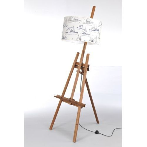 Lampa stojąca sztaluga dark wood nr 2459 marki Namat