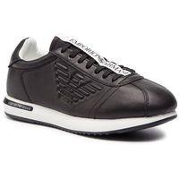 Emporio armani Sneakersy - x4x260 xl709 k003 black/black/black