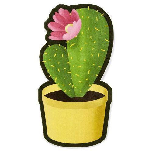 Wycieraczka w kształcie kaktusa bonprix zielony