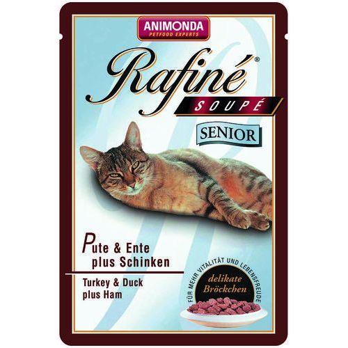 Animonda Rafine Soupe Senior indyk z kaczką i szynką 100g