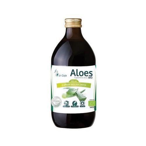 Organiczny 100% sok aloesowy 500ml Dr Gaja (5903111250171)