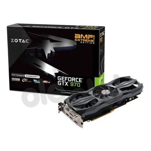 Zotac  geforce gtx970 4gb ddr5 256 bit amp extreme edition