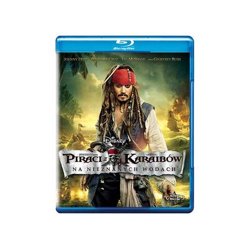 Piraci z Karaibów. Na nieznanych wodach [Blu-ray]