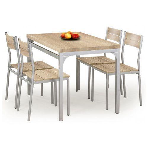 Producent: profeos Stół z krzesłami torino - dąb sonoma